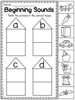Mega Phonics Worksheet Bundle Pre K Kindergarten Distance Learning