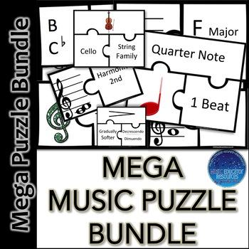 MEGA Music Puzzle BUNDLE