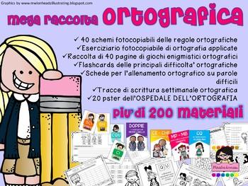 MEGA RACCOLTA ORTOGRAFICA