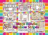 MEGA Rainbow Stripe Neon Themed Bundle