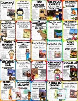 MEGA Read Aloud Bundle: 27 Resource Packets for Grades 3-5