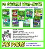 14 activity/unit MEGA SCIENCE Bundle! Gr 3-4