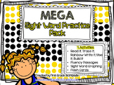MEGA Sight Word Practice Pack - First Grade