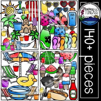 Summer Clipart MEGA Bundle