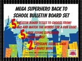 MEGA Superhero Bulletin Board Pack Great for Back to School!
