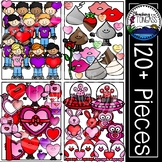 Valentine Clipart MEGA Bundle (Valentine's Day Clipart)