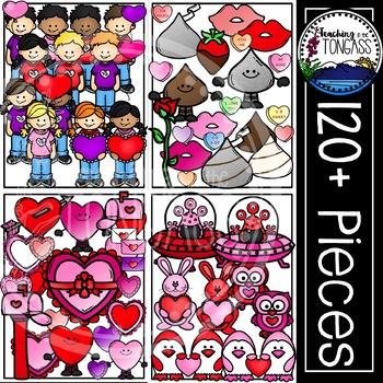 Valentine Clipart MEGA Bundle