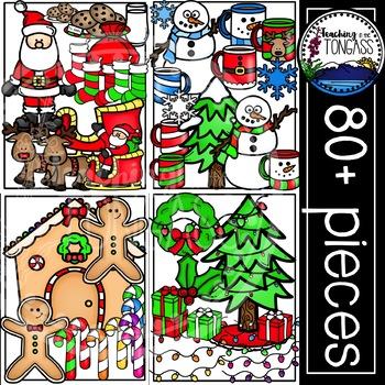 Christmas Clipart MEGA Set