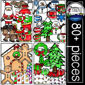 Christmas Clipart MEGA Bundle