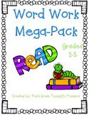 MEGA Word Work Packet