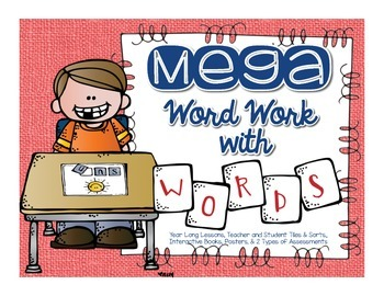 MEGA Word Work with Words
