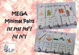 MEGA minimal pairs [沙 s?揸ts?叉tsh? 打t?他th?] Cantonese Chinese Articulation [SLP]