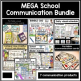 MEGA school based visual communication aids and supports. AAC autism and speech