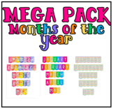 MEGAPACK Months of the year