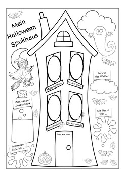 MEIN HALLOWEEN - German / Deutsch - Berichten über Halloween