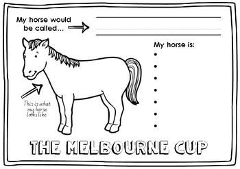 MELBOURNE CUP HORSE CRAFT
