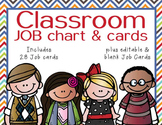 the BRAINY BUNCH - Classroom Helpers JOBS clip chart