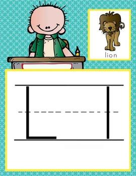 the BRAINY BUNCH Theme - CARDS: alphabet