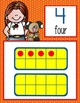 the BRAINY BUNCH Theme - CARDS : numbers 1 to 20