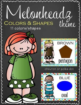 the BRAINY BUNCH Theme - CARDS : shapes and colors