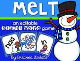 MELT! an editable sight word game