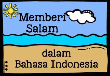 MEMBERI SALAM - Greetings in Bahasa Indonesia