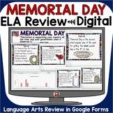 MEMORIAL DAY ELA DIGITAL REVIEW: GOOGLE DRIVE (FORMS): GOO