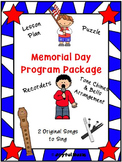 MEMORIAL DAY PROGRAM PACKAGE