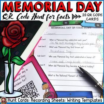 MEMORIAL DAY: QR CODE HUNT