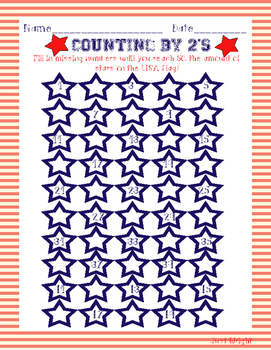 MEMORIAL DAY, USA 7 worksheets- spelling, writing, skip counting, vocabulary