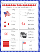 MEMORIAL DAY, USA 7 worksheets- spelling, writing, skip co