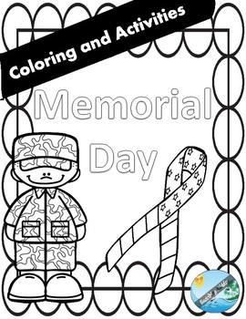 MEMORIAL Day  COLORING and GAMES