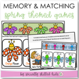 MEMORY AND MATCHING GAMES || Spring Themed