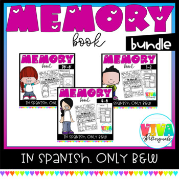 MEMORY BOOK BUNDLE (ENG-SPA)