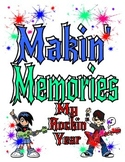 "MEMORY BOOK--""My Rockin' Year"""