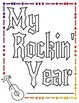 "MEMORY BOOK--""My Rockin' Year"""