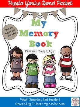 MEMORY BOOK Presto You're Done