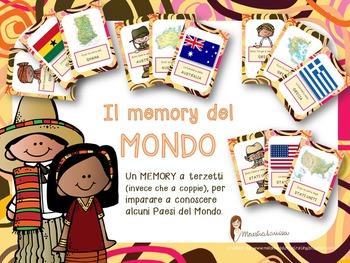 MEMORY DELLE NAZIONI (terzetti)