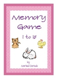 MEMORY GAME 1 TO 10