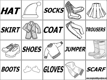 MEMORY GAME CLOTHES