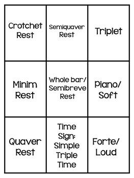 Music Game: Music Memory - Music Symbols