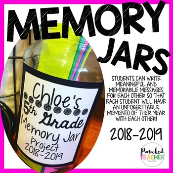 MEMORY JAR FREEBIE (1st-8th Grade)