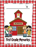 MEMORY OR SCRAPBOOK FOR FIRST GRADE
