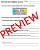 MENTAL HEALTH LESSON PLAN: Online Scavenger Hunt by ...