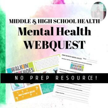 MENTAL HEALTH LESSON PLAN: Online Scavenger Hunt by ...