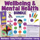 MENTAL HEALTH & WELLBEING Classroom Management Bundle - Calming Strategies