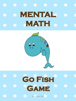 MENTAL MATH GO FISH GAME