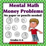 MENTAL MATH MONEY PROBLEMS  • Grades 4–6