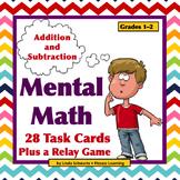MENTAL MATH TASK CARDS  • GRADES 1–2 • ADDITION/SUBTRACTION