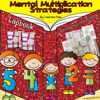 MULTIPLICATION:  MENTAL MULTIPLICATION STRATEGIES {COMMON CORE ALIGNED}